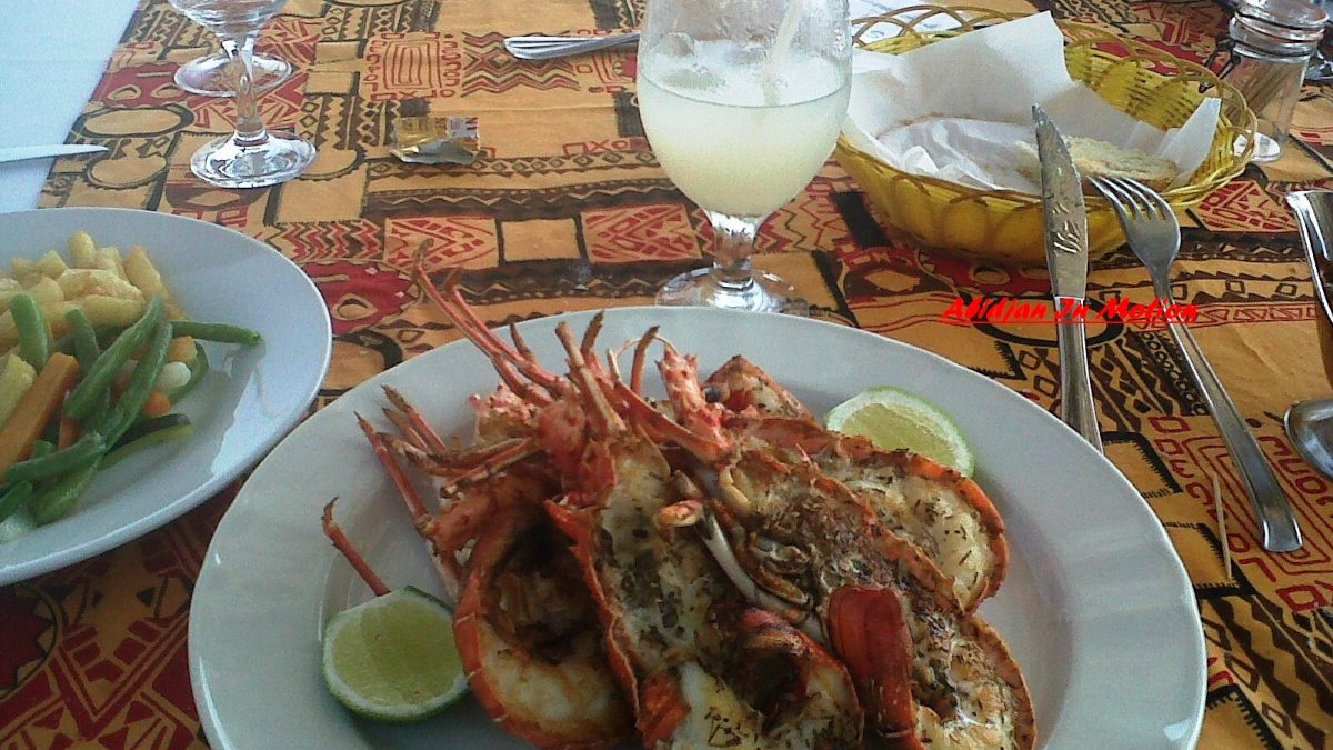 Déjeuner au Coucoué Lodge @Assinie