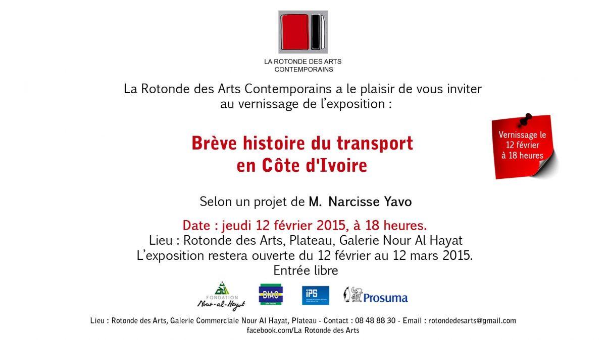 Expo Photo 'Histoire du Transport' – Rotonde des Arts Plateau 12.02.2015 > 12.03.2015